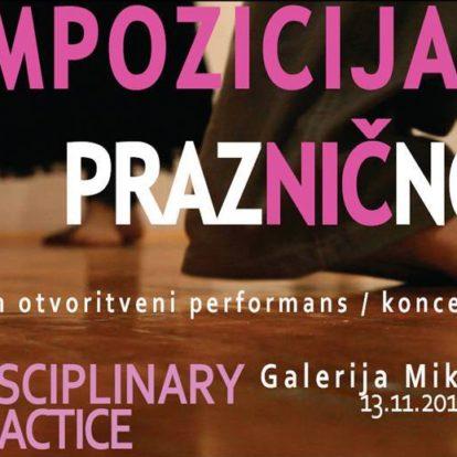 Odprtje razstave Kompozicija za prazničnost