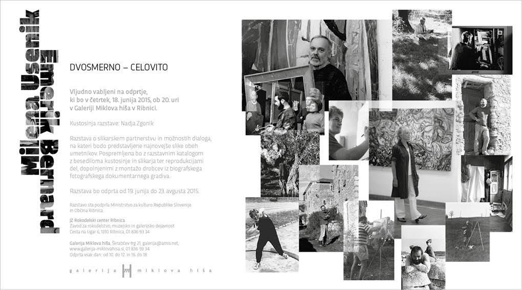 Odprtje razstave DVOSMERNO - CELOVITO