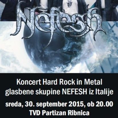Koncert Hard Rock in Metal skupine NEFESH