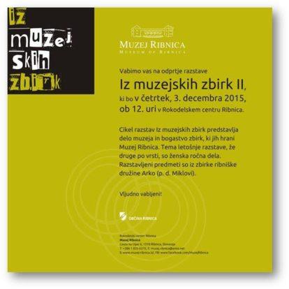 Odprtje razstave Iz muzejskih zbirk II na Ta veseli dan kulture