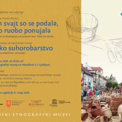 Gostovanje razstave Muzeja Ribnica v Slovenskem etnografskem muzeju