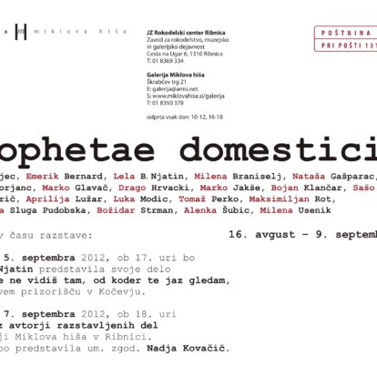 Prophetae domestici 2
