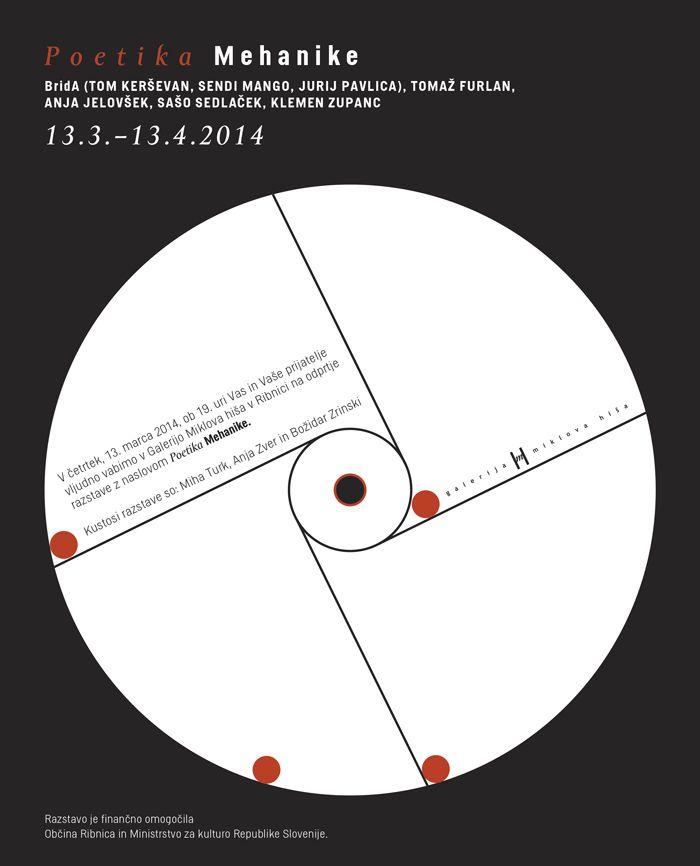 Odprtje razstave Poetika Mehanike
