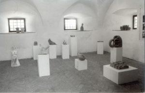 Razstava Terra, Petkova Galerija, 1985