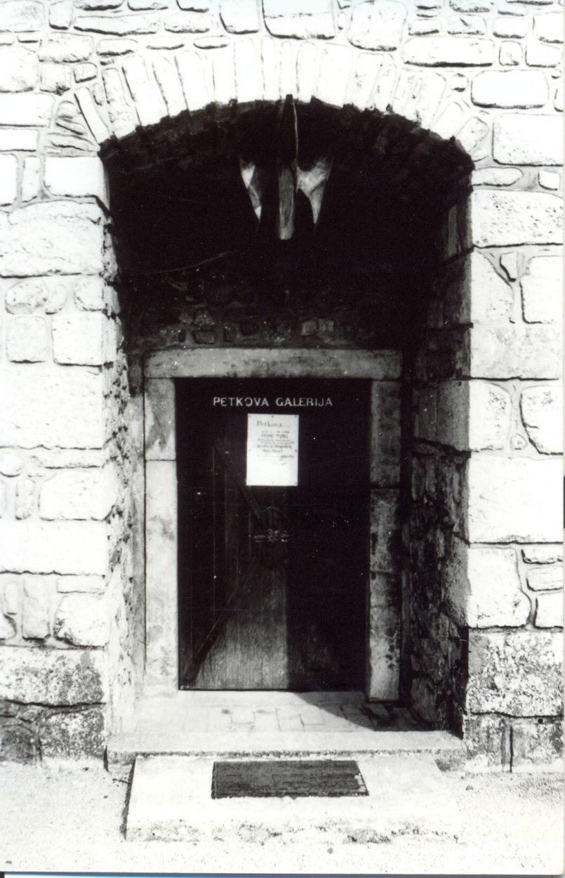 Razstava Del Franca Purga, Petkova Galerija,1986