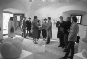 Razstava Del Janeza Misa Kneza, Petkova Galerija, 1986