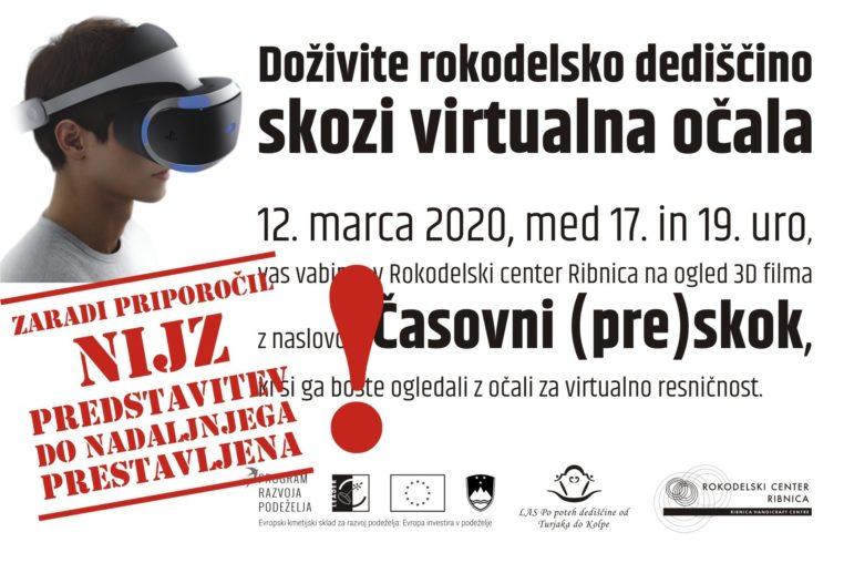 Banner Drsnik Časovni (pre)skok Odpade